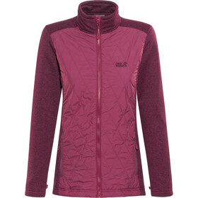 Jack Wolfskin Caribou Crossing Altis Jacket Damen dark ruby